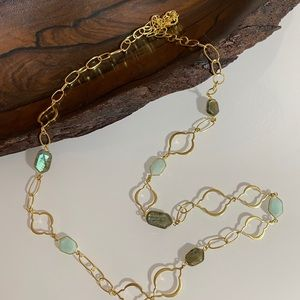 NWOT | Stella & Dot | Arabesque Gold Necklace